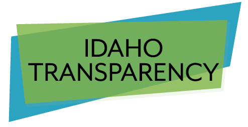 Logo for Idaho Transparency laws section